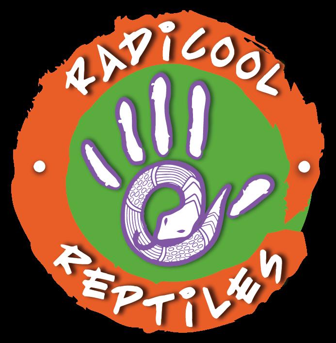 Radicool Reptiles Logo